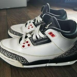 Nike Air Jordan Retro 3 III Shoe Size:6.5